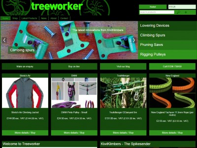 The New Treeworker Website